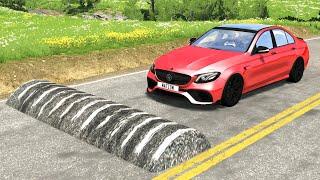 Cars vs Massive Speed Bumps #2 – BeamNG.Drive