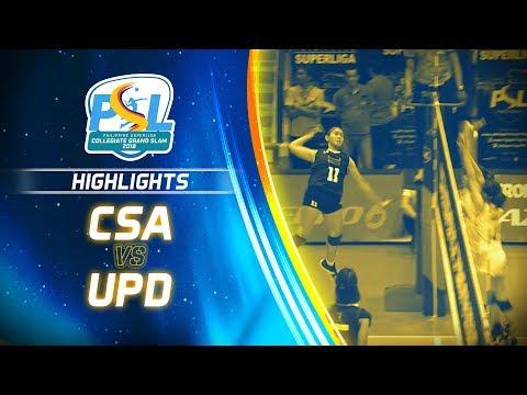 Highlights: CSA - Biñan vs. UPD   PSL Collegiate Grand Slam 2018