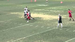 2017 RB/CB Michael Silva (2016) IMG Southeast Regional 7v7 Highlights