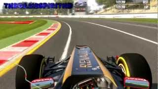F1 2011 Nick Heidfeld Test Melbourne Albert Park 2011 Car HD Gameplay