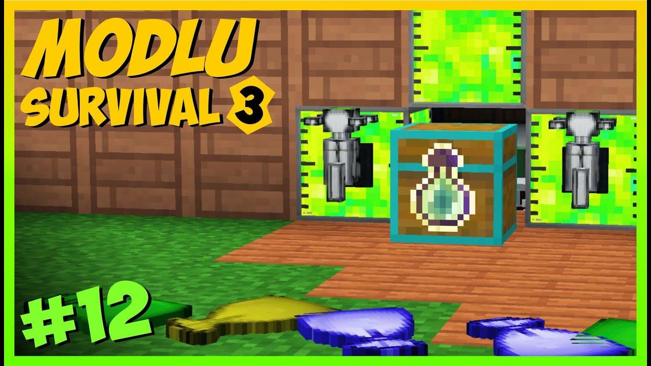 SINIRSIZ XP ve MOB FARMI ❎❎ - Modlu Survival S3 _ #12