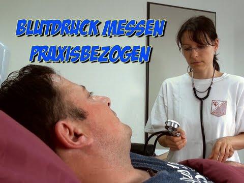 Blutdruck messen - Praxisbezogen