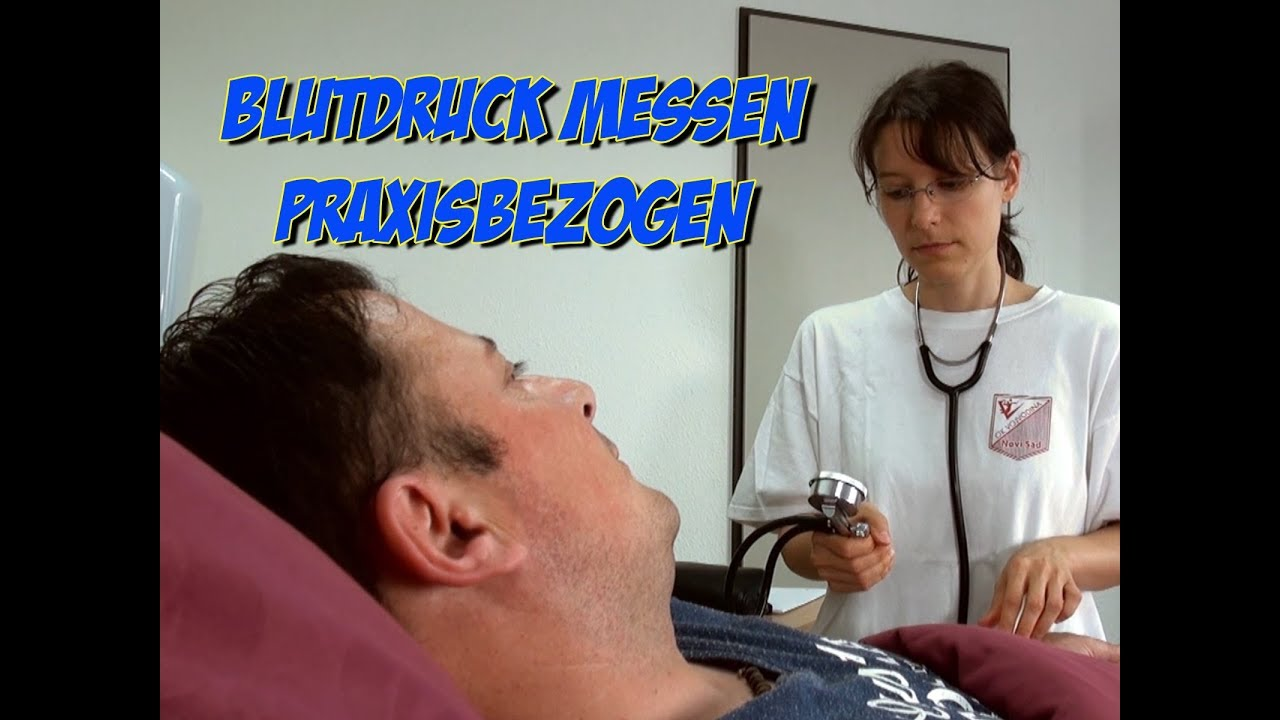 Blutdruck messen im liegen - Wo kann man überall Blutdruck..