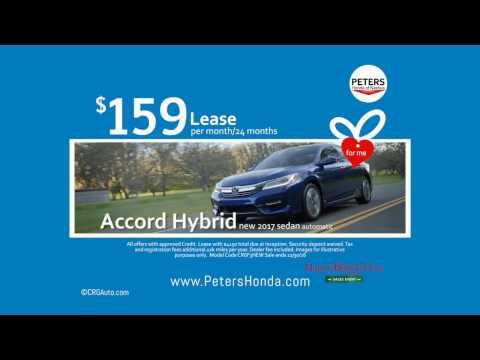 New Honda Accord Hybrid Black Friday Lease Deal Nashua New Hampshire