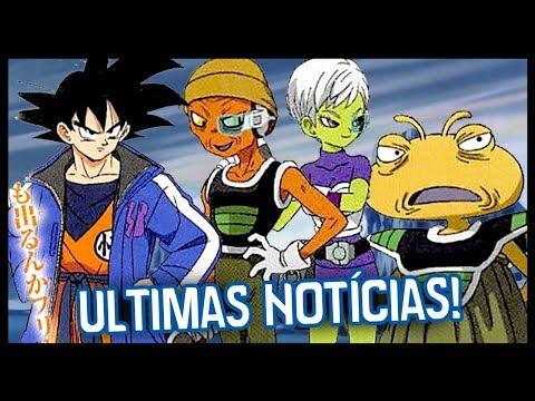 ÚLTIMAS NOTÍCIAS SOBRE O FILME DE DRAGON BALL SUPER! NOVOS PERSONAGENS!