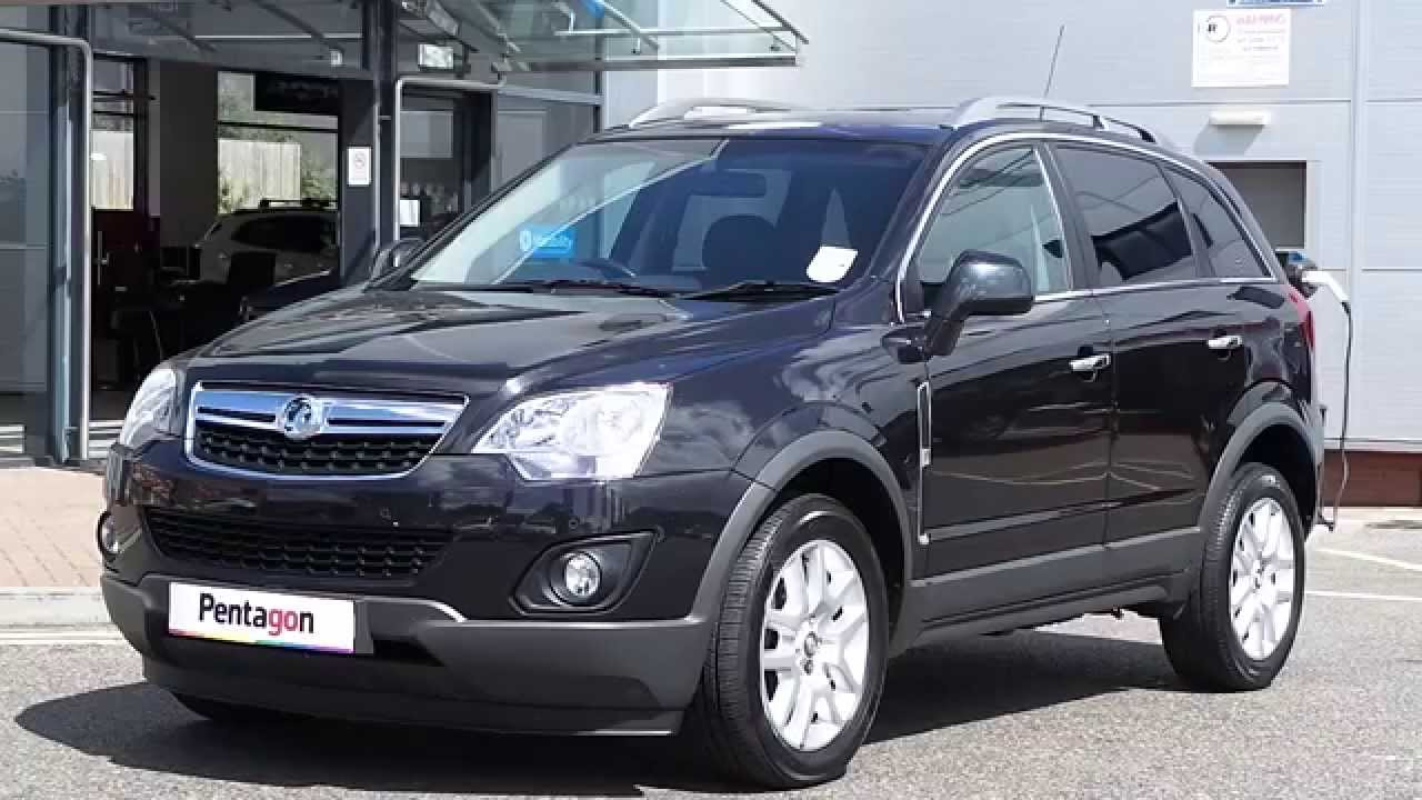 2012 12 Plate Vauxhall Antara 2 2 Cdti Exclusive 4x4 5dr