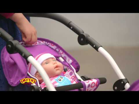 Smyths Toys - Dimples Dolls Buggies