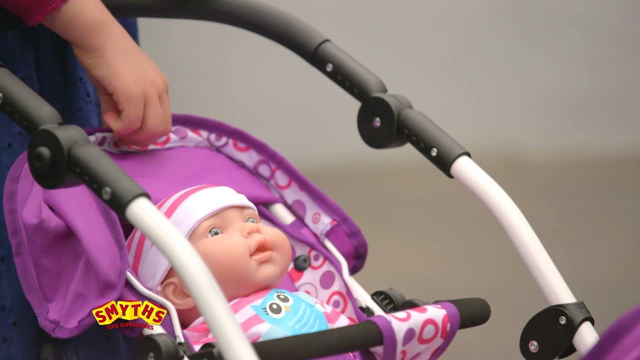 Baby Pram Or Pushchair Smyths Toys Dimples Dolls Buggies Youtube