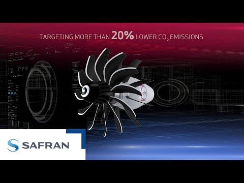 CFM Rise program - Open fan,The most ambitious architecture | Safran