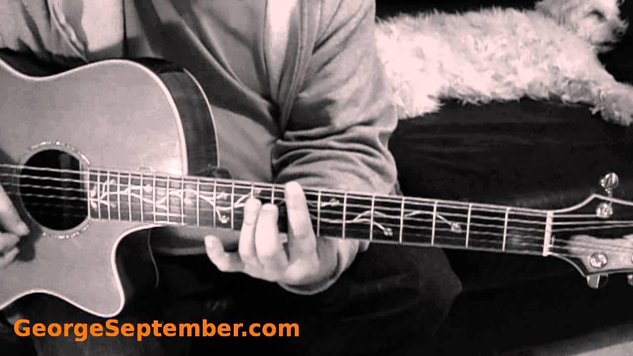 how to play walk by faith on guitar