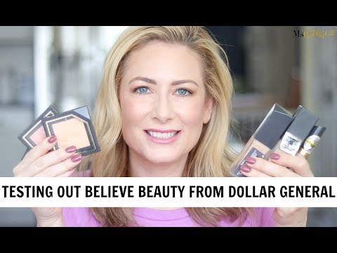 TRYING OUT BELIEVE BEAUTY FROM DOLLAR GENERAL | MsGoldgirl
