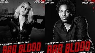 New Taylor Swift 'Bad Blood' Posters Featuring Kendrick Lamar, Lena Dunham, Gigi Hadid