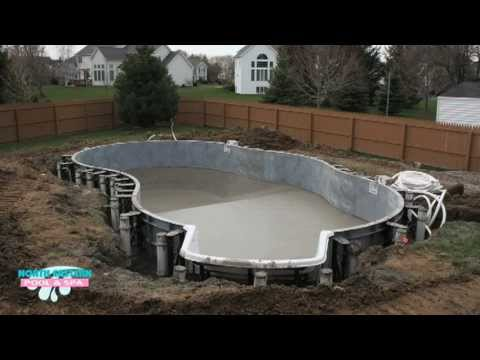 The North Eastern Pool & Spa Experience - Rochester NY, Pool Install
