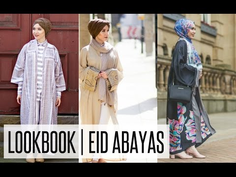LOOKBOOK | Eid Open Abayas Inspiration | NABIILABEE