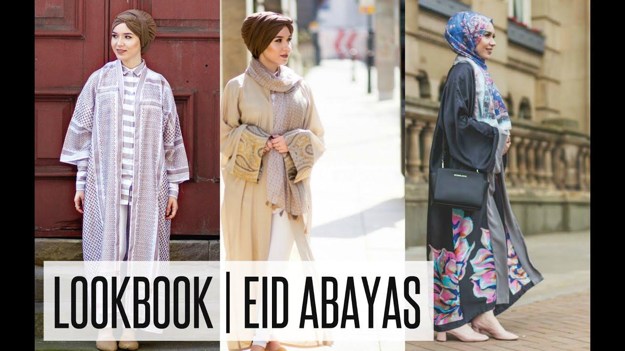 55794e60c01e LOOKBOOK | Eid Open Abayas Inspiration | NABIILABEE - YouTube