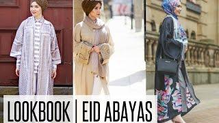 LOOKBOOK | Eid Open Abayas Inspiration | NABIILABEE