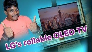 LG's rollable OLED TV  Full Details  