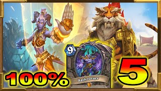 Hearthstone: 100% Winrate Against Shaman, Hunter and Rogue Pt.5 | Meta Breaker Deck | OTK Shirvallah