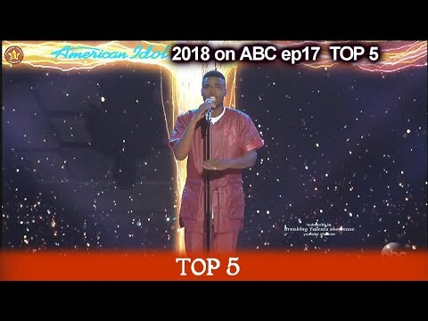 "Michael J. Woodard sings ""Still I Rise""  FOR HIS MOTHER American Idol 2018 Top 5"