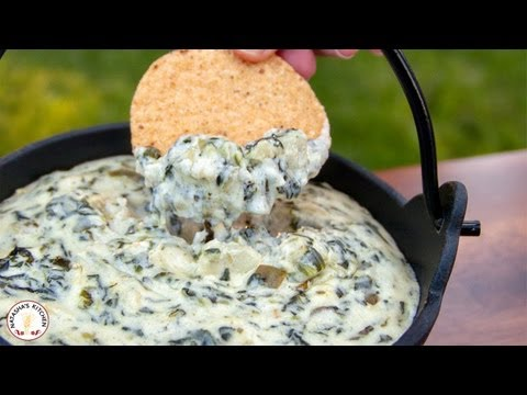 Thumbnail: Easy Appetizers: Spinach and Artichoke Dip Recipe - Natasha's Kitchen