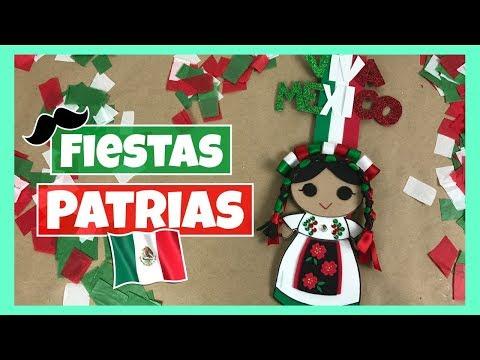 DIY - DECORACIÓN PARA FIESTAS PATRIAS | ADORNO PARA EL 15 DE SEPTIEMBRE! 🇲🇽 🎆