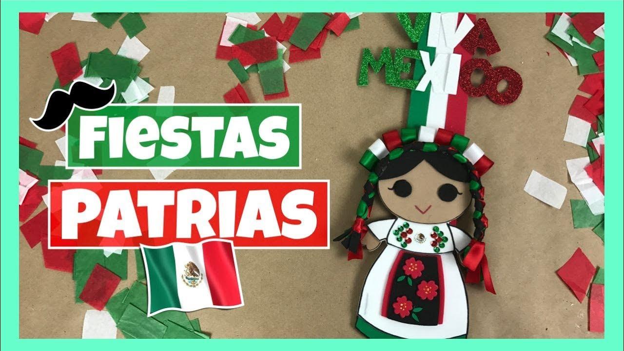 Diy decoraci n para fiestas patrias adorno para el 15 for Puertas decoradas para el 16 de septiembre