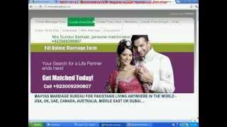 A Pakistani Matrimonial sites - Pakistani Matrimonials - Pakistani marriage bureau