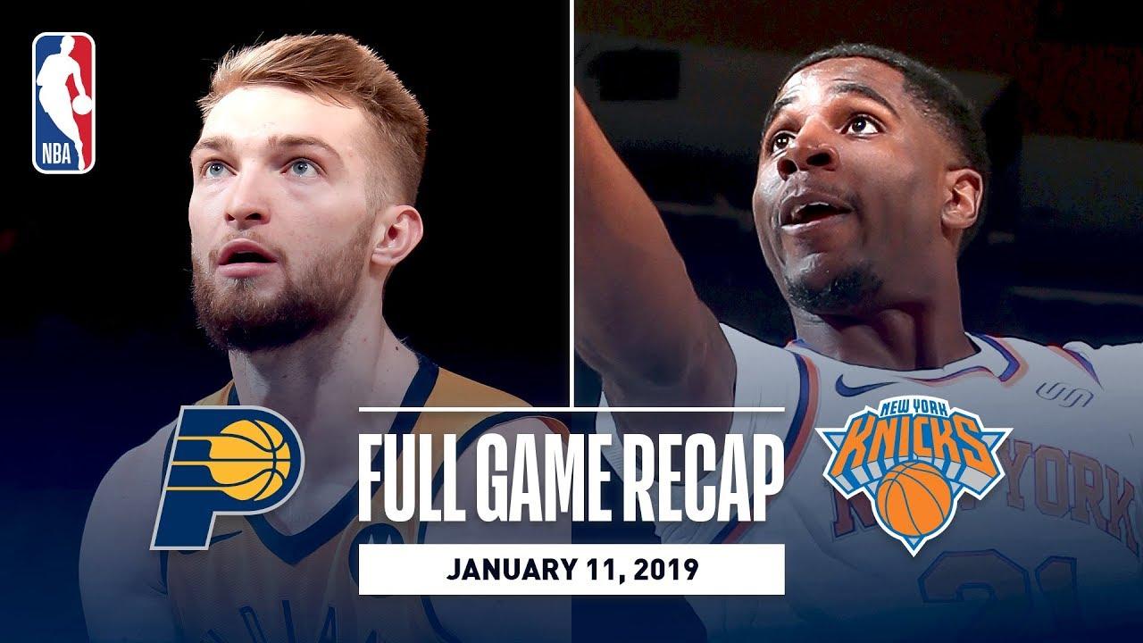 Sabonis, Oladipo Lead Pacers Past Knicks On Opening Night