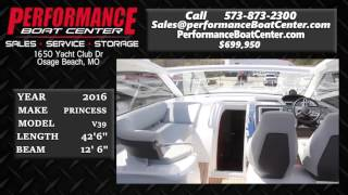 Princess V39 offered by Performance Boat Center