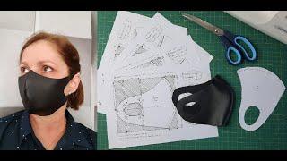 Diy – Máscara Ninja com Neoprene ou Couro Sintético