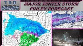 ~WINTER UPDATE~ Major Winter Storm Finley Forecast