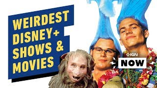 Disney Plus Reveals Hundreds of Shows and Movies in Weird Flex - IGN Now