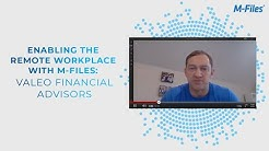 Enabling the Remote Workplace with M-Files: Valeo Financial Advisors