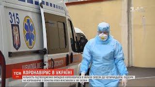В Україні 14 осіб захворіли на коронавірус та 181 під підозрою