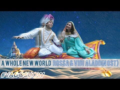 A Whole New World - Rossa & Vidi Aldiano (Aladdin OST) | #VAgoShow