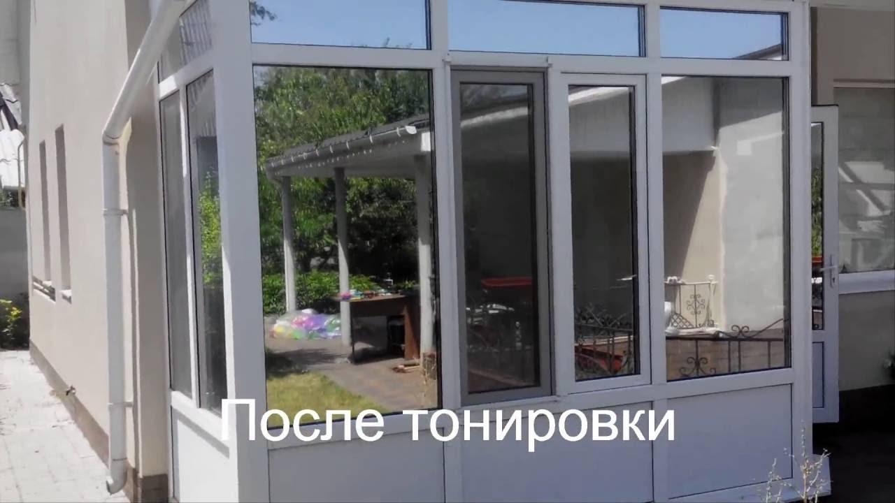 Тонировка окон своими руками видео фото 279