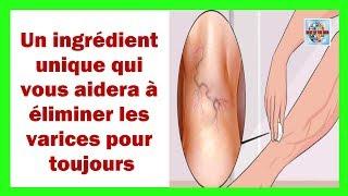 Comment enlever les varices sur les jambes naturellement