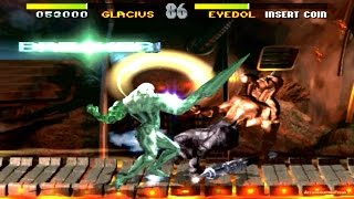 Killer Instinct 1 arcade Glacius 60 FPS Gameplay Playthrough