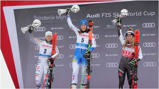Alpine Skiing news - Fantastic Petra Vlhova forces Mikaela Shiffrin to wait for GS title