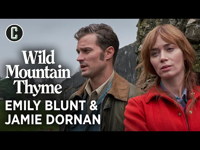 Emily Blunt and Jamie Dornan on 'Wild Mountain Thyme' and John Patrick Shanley's Bewitching Script