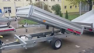 TIPPER 2515 C S przyczepa wywrotka transportowa hydraulika pompa elektryczna TEMARED Świdnik