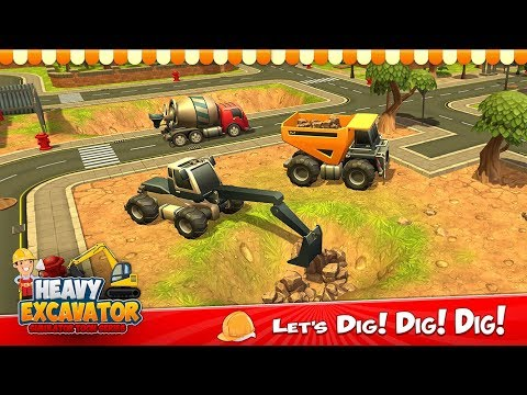 Heavy Excavator Crane For Pc - Download For Windows 7,10 and Mac