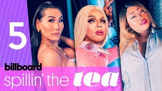 Spillin' The Tea: RPDR vs. Local Drag with Guests Marti Gould Cummings & Tina Burner | Billboard