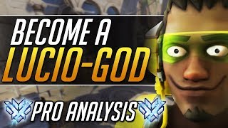 Smurf Lucio - Pro Lucio Tips and Tricks Gameplay Guide| Overwatch Guide