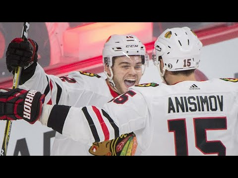DeBrincat can't describe the emotion of scoring first NHL goal