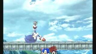 Brawl Hacks - Giant Growing Sonic/Super Sonic