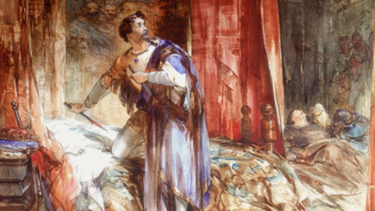 a scene analysis of the tragedy macbeth William shakespeare: the tragedy of macbeth  scene, context of the image  analysis using visual texts scaffold for each image.