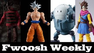 Weekly! Ep 88 Dragon Ball, Star Wars, Model Kits, Marvel Legends, Mezco, NECA, and Dragon Quest!