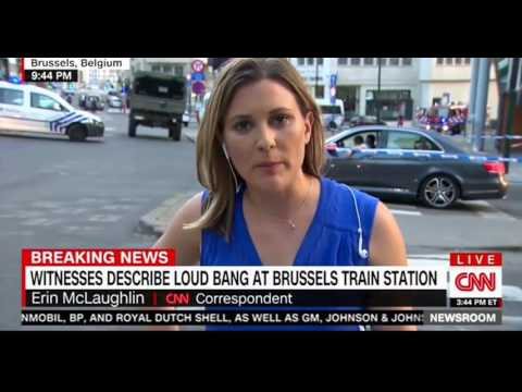 Brussels Central Station terror attack Suspect shot after failed bombing