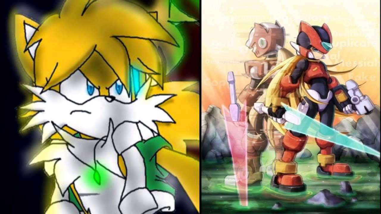 megaman zero 3 cannonball music cover zero vs omega vs tails